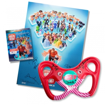 YOU ARE BIDDING ON:  Replica 'Sugar Rush' Steering Wheel from Disney's 'Ralph Breaks the Internet'
