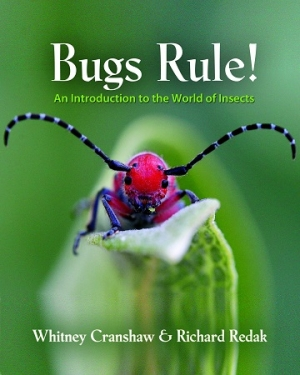 Bugs Rule! Co-Author Richard Redak will join Jon and Talkin' Pets Saturday 9/21/13 at 5 PM EST to discuss and give away his book