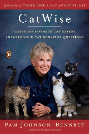 Pam Johnson-Bennett, author of CatWise will join Jon and Talkin' Pets 10/15/16 at 5pm EST to discuss and give away her new book