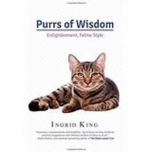 Author of Purrs of Wisdom Ingrid King will join Jon and Talkin' Pets Saturday 9/10/16 at 5 pm EST to discuss and give away her new book