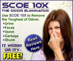 John Davidson from BioFog Inc. creators of SCOE10X will join Jon and Talkin' Pets 7/25/15 at 630 PM EST to discuss and give away his pet odor eliminator