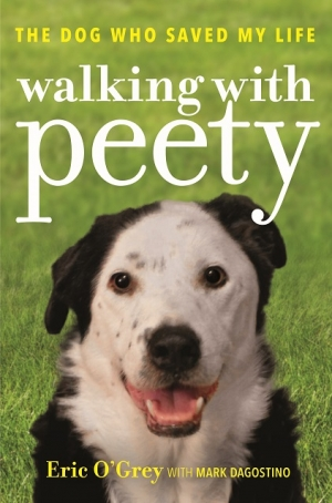 You've probably seen his film on www.mutualrescue.org now read his book Walking with Peety, Eric O'Grey will join Jon and Talkin' Pets 11/25/17 at 5pm EST to discuss and give away his new book