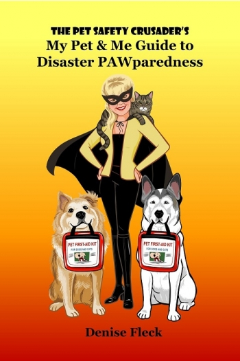 """Denise Fleck author of The Pet Safety Crusader's """"My Pet & Me Guide to Disaster Pawparedness"""" will join Jon and Talkin' Pets 11/17/18 at 5pm EST to discus and give away her new book"""
