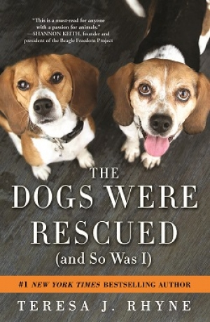 "Teresa J. Rhyne author of ""The Dogs Were Rescued (and So Was I) will join Jon and Talkin' Pets 10/4/14 to discuss and give away her new book"
