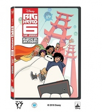 Win a copy of Big Hero 6 DVD for you and the family on Talkin' Pets this Saturday 7/7/2018 5-8pm EST from Disney