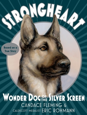 Candace Fleming and Eric Rohmann author and illustrator of Strongheart: Wonder Dog ot the Silver Screen will join Jon and Talkin' Pets 2/10/18 at 630pm EST to discuss and giveaway their book
