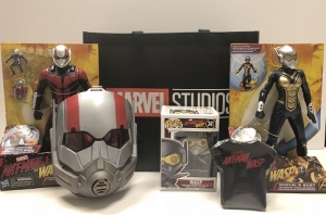Listen to Talkin' Pets this Saturday 5-8pm EST and get a chance to win ANT-MAN & the WASP gift set from Marvel Studios