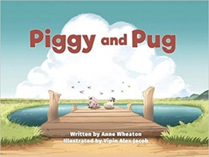 Anne Wheaton author of Piggy and Pug will join Jon and Talkin' Pets 3/10/18 at 630pm EST to discuss and give away her new book