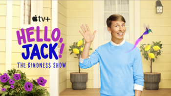 """New Apple Original series """"Hello, Jack! The Kindness Show"""" from Jack McBrayer and Daytime Emmy-winner Angela C. Santomero to debut Friday, November 5 on Apple TV+"""